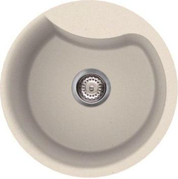 Кухонная мойка Smeg LSE 48 P кремовый (GRANITEK) цена и фото
