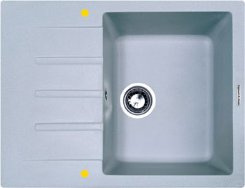 Кухонная мойка Zigmund & Shtain RECHTECK 645 млечный пут zigmund amp shtain rechteck 645 млечный пут