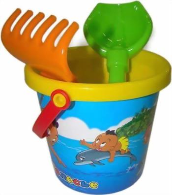 Набор для песочницы Полесье №219 polesie набор игрушек для песочницы полесье холодное сердце 14 7 предметов