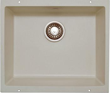 Кухонная мойка LAVA U.1 (LATTE белый)