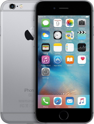 Смартфон Apple iPhone 6S 32Gb Space Gray (MN0W2RU/A)