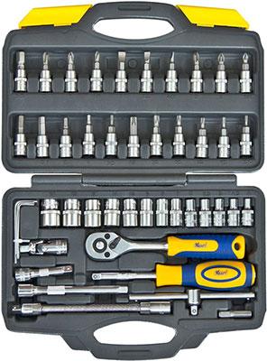 цена на Набор инструментов разного назначения Kraft KT 700618 46 предметов