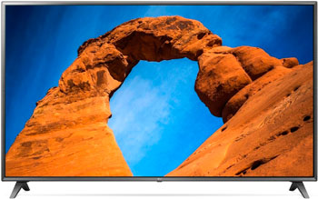 4K (UHD) телевизор LG 75 UK 6750 цена