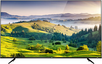 Фото - 4K (UHD) телевизор TCL L 65 P6US Metal черный колготки детские penti цвет 10 белый cozy 160d m0c0327 0130 pnt размер 3 113 127