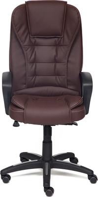 Фото - Офисное кресло Tetchair BARON (кож/зам коричневый/коричневый перфорированный 36-36/36-36/06) кресло офисное tetchair поло polo доступные цвета обивки искусств чёрная кожа