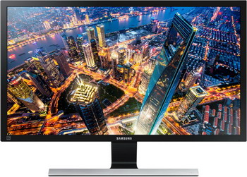 ЖК монитор Samsung U 28 E 590 D (RU) черный u d o u d o mastercutor alive 2 cd dvd