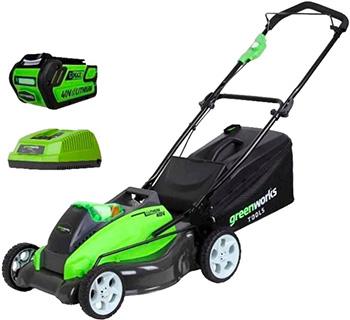 Колесная газонокосилка Greenworks G 40 LM 45 K4 2500107 VB