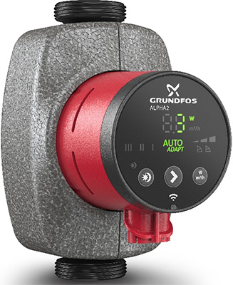 Насос Grundfos ALPHA2 25-40 180 1x 230 V 50 Hz 6H RU 99420002 цены