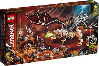 Конструктор Lego Ninjago ''Дракон чародея-скелета'' lego lego ninjago императорский храм безумия