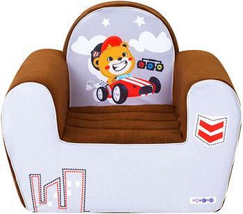 Игровое кресло Paremo серии ''Экшен'' Гонщик цвет Шоколад