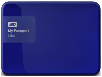 Внешний жесткий диск (HDD) Western Digital My Passport Ultra 500 GB WDBBRL 5000 ABL-EEUE 2.5 Blue аксессуар western digital grip pack wdbzby0000npm easn для my passport ultra pink