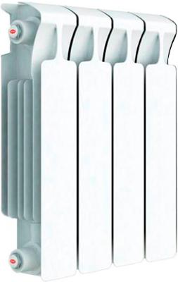 Водяной радиатор отопления RIFAR Monolit 350 х 4 сек биметаллический радиатор rifar рифар b 500 нп 10 сек лев кол во секций 10 мощность вт 2040 подключение левое