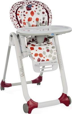 Стульчик для кормления Chicco POLLY Progres5 CHERRY 05079336740000 стул для кормления chicco polly progres5 вишневый