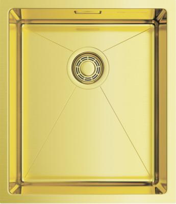 Фото - Кухонная мойка Omoikiri TAKI 38-U/IF-LG светлое золото (4973092) кухонная мойка omoikiri taki 44 u if lg 4973520