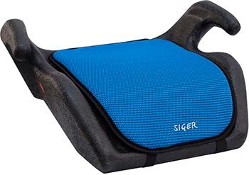 Автокресло Siger Мякиш синий 22-36 кг бустер группа 3 22 36 кг siger мякиш плюс синий