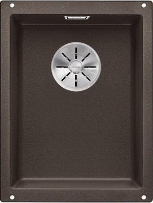 Кухонная мойка BLANCO SUBLINE 320-U SILGRANIT кофе с отв.арм. InFino 523415 цены онлайн