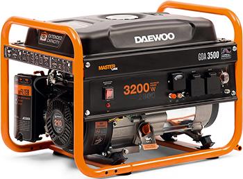 Электрический генератор и электростанция Daewoo Power Products GDA 3500 генератор бензиновый daewoo gda 6800