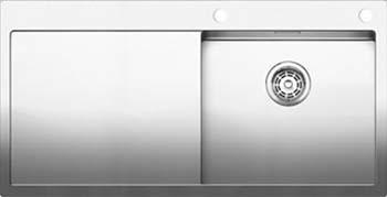 Кухонная мойка Blanco CLARON 5S-IF/А (чаша справа) нерж. сталь зеркальная полировка 521625