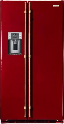 Холодильник Side by Side Iomabe ORE 24 CGHFRR Бордо холодильник side by side iomabe ore 24 chhfss нержавейка