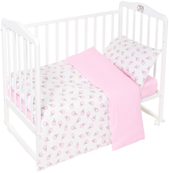 Комплект постельного белья Sweet Baby Gelato Rosa (Розовый) 3 предмета цены онлайн