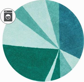 Ковер Lorena Canals Geometric Emerald 160 D C-GEO-EMER