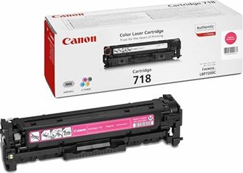 Картридж Canon 718 M 2660 B 002 цена 2017