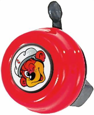 звонок для самокатов и велосипедов 11а 01 210093 красный Звонок Puky G 22 9984 red красный