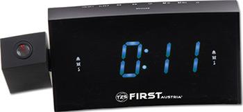 Радиочасы First FA-2421-8 Black цена