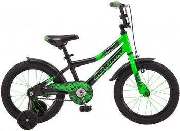 Велосипед Schwinn Piston 16 зелёный цена