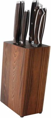 Набор ножей, ножницы и подставка Berghoff Dark Wood 1307170 набор ножей berghoff dark wood 1309010