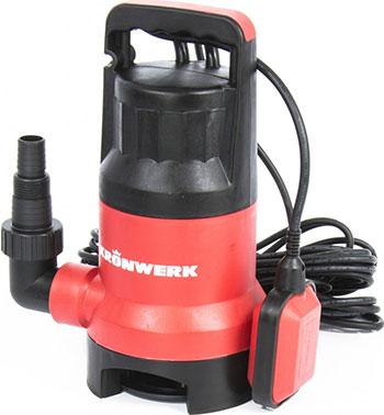 Насос Kronwerk 97232 насос дренажный kronwerk kp600