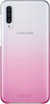 Чехол (клип-кейс) Samsung A 50 (A 505) Gradation Cover pink EF-AA 505 CPEGRU samsung a