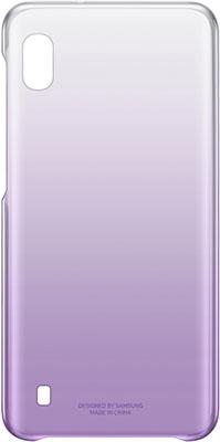 Чехол (клип-кейс) Samsung A 10 (A 105) GradationCover violet EF-AA 105 CVEGRU цена и фото