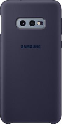 Чехол (клип-кейс) Samsung S 10 e (G 970) SiliconeCover navy EF-PG 970 TNEGRU чехол клип кейс samsung s 10 g 975 siliconecover pink ef pg 975 thegru
