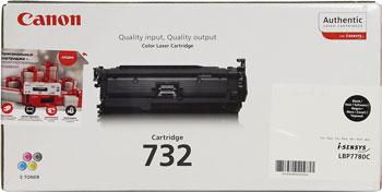 Тонер-картридж Canon 732 Bk 6263 B 002 Чёрный