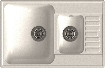 Кухонная мойка Lex St. Moritz 740 White настольные часы bvitech bv 412g