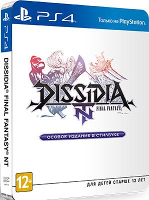 Игра для приставки Sony PS4 Dissidia Final Fantasy NT Особое издание STEELBOOK