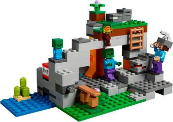цена Конструктор Lego Пещера зомби 21141