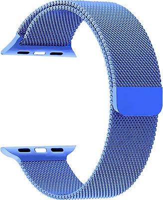 Ремешок для часов Lyambda Apple Watch 42/44 mm CAPELLA DS-APM02-44-BL Blue