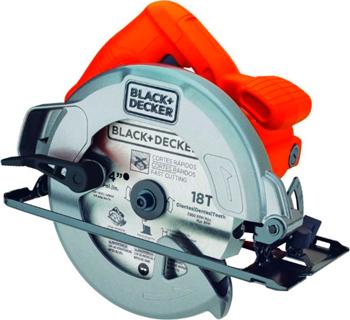 Дисковая (циркулярная) пила Black&Decker CS1004 черно-оранжевый пила дисковая makita hs7100k