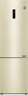 цена Двухкамерный холодильник LG GA-B 509 CEDZ Бежевый