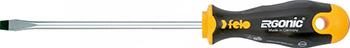 Отвертка Felo Ergonic плоская шлицевая 6 5X1 2X200 40065710 отвертка felo ergonic плоская шлицевая 5 5x1 0x150 40055510