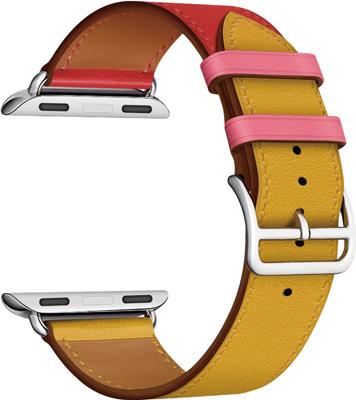 Кожаный ремешок Lyambda для Apple Watch 42/44 mm MAIA LWA-03-44-RY фото