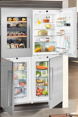 Встраиваемый холодильник Side by Side Liebherr SBSWdf 64I5 (EWTdf 1653-20 + IKP 1660-60 + IGN 1664-20 + SIBP 1650-20) вермикомпост биуд 20 л