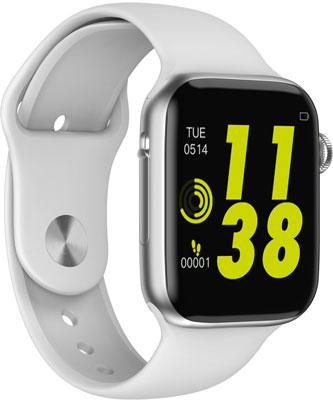 Спортивные умные часы JET SPORT SW-4C серебристый детская футболка классическая унисекс printio кролик