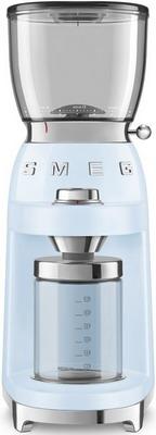 Кофемолка Smeg CGF01PBEU тостер на 4 ломтика smeg пастельный голубой tsf03pbeu