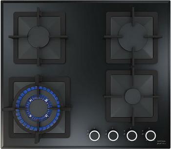 Встраиваемая газовая варочная панель Krona, CALORE 60 BL, Турция  - купить со скидкой