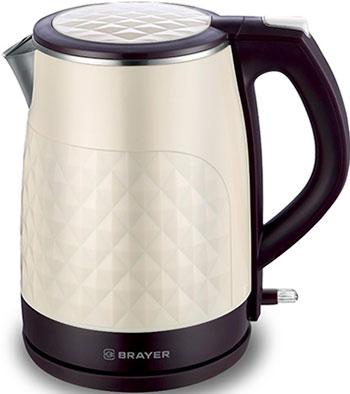 Чайник электрический BRAYER, BR1043WH, Китай  - купить со скидкой