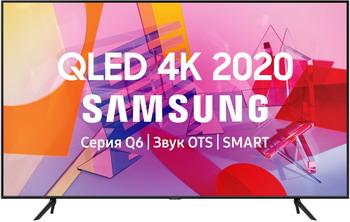 Фото - QLED телевизор Samsung QE55Q60TAUXRU видеоняня samsung wi fi видеоняня smartcam snh c6417bn