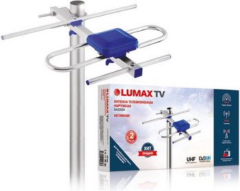 Фото - ТВ антенна Lumax DA2202A уличная dvb t2 антенна lumax da2202a